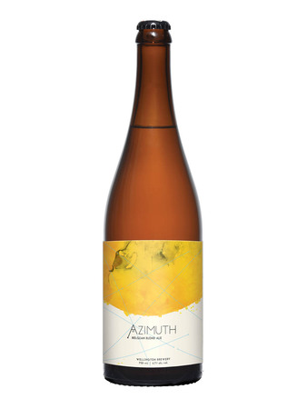 Azimuth Belgian Blond ale bottle