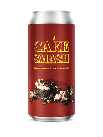 Cake Smash - Golden Promise & Citra Smash Beer