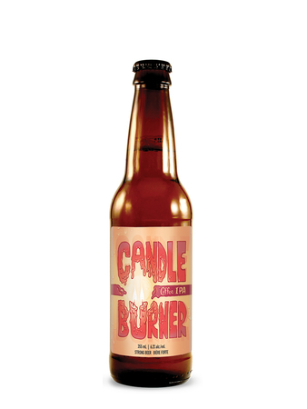 Candle Burner - Coffee IPA bottle2
