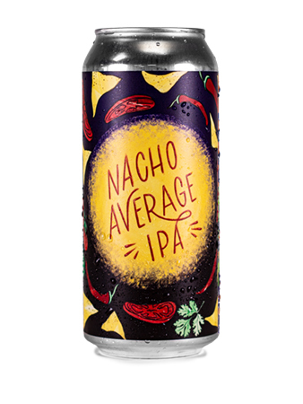 Nacho Average IPA can
