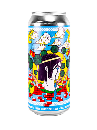 New Growth West Coast Pale ale can