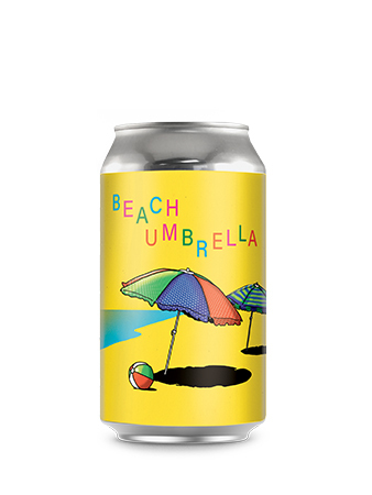 party favours - Beach Umbrella - Gose with Watermelon and basil