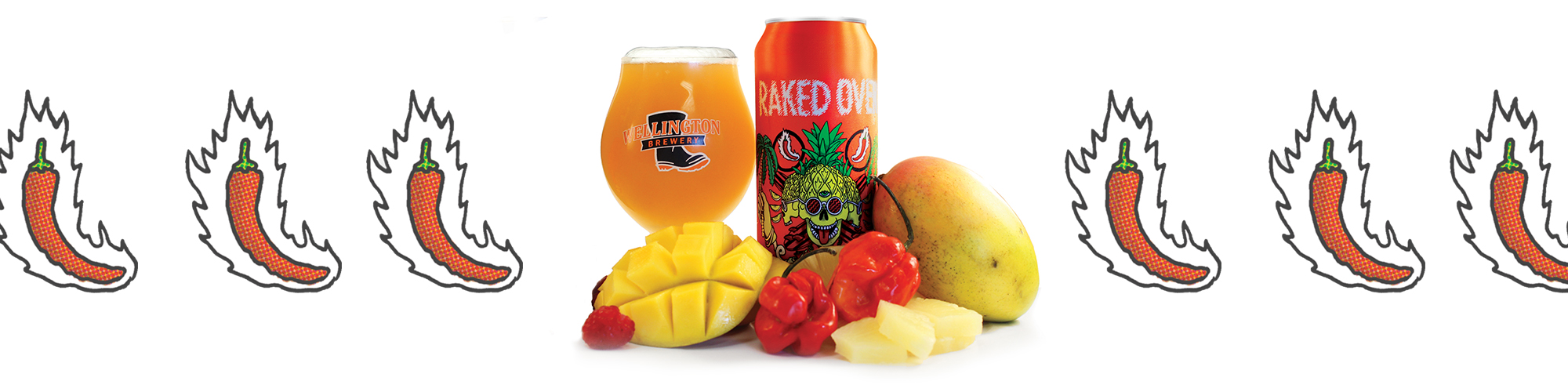 Raked Over IPA with Mango Pineapple and Habanero