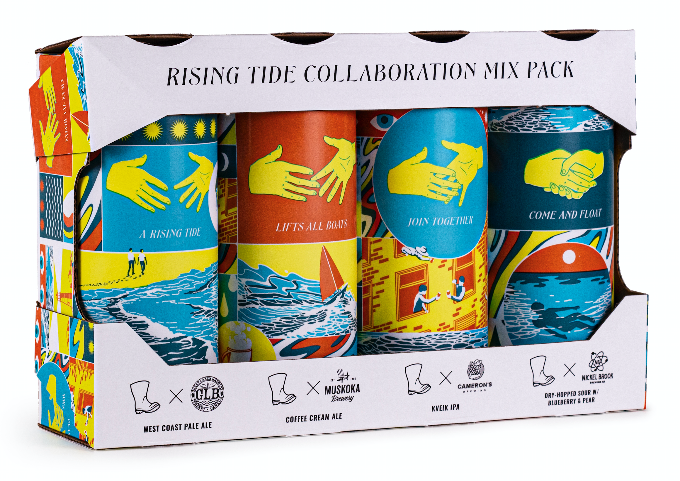 Rising Tide Collaboration Mixpack
