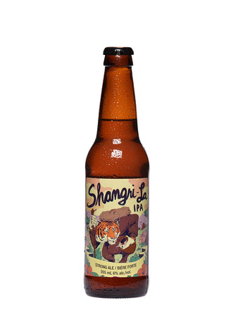 Shangri La IPA bottle