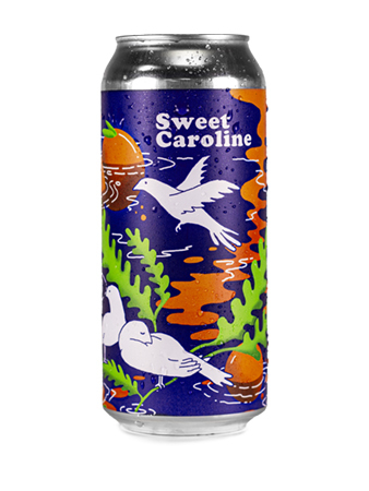 sweet caroline orange can