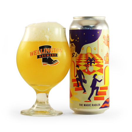 The Magic Radler glassware 2