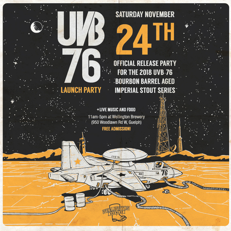UVB 76 2018 bourbon barrel aged imperial stout Launch Party
