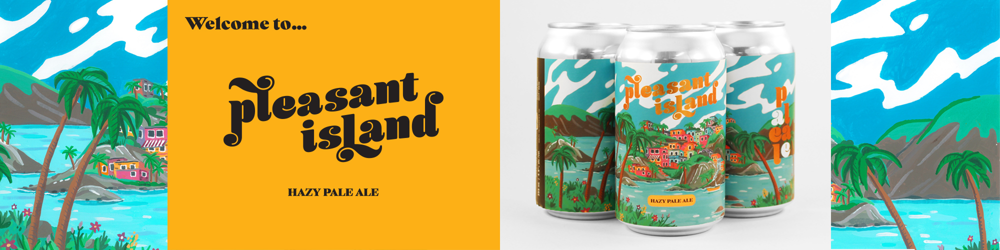 Wellington Brewery - Pleasant Island - Hazy Pale Ale