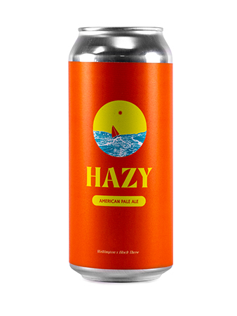 Wellington x Block Three -  Hazy American Pale Ale