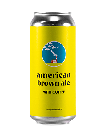 Wellington x Red Circle - American Brown Ale with Coffee