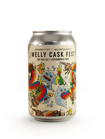 Welly Cask Fest Oat Pale Ale with Experimental Hops