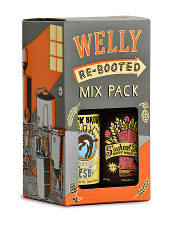 Welly Re-Booted Mix pack Vol 1