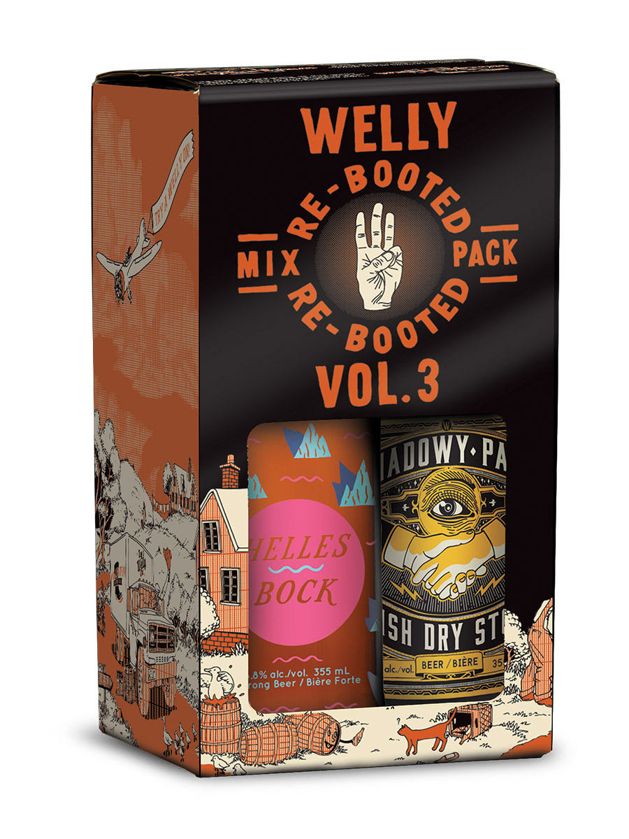 Welly Re-Booted Mix pack Vol 3 box